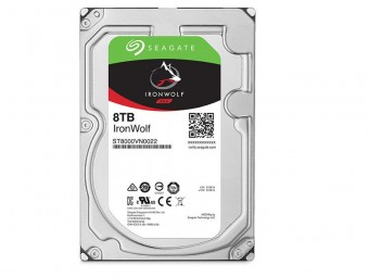 Hd Seagate IronWolf Nas 8TB 7200RPM 256MB SATA 6GB/S - ST8000VN0022