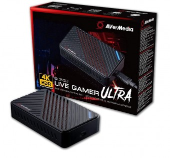 Placa de Captura Avermedia Live Gamer Ultra GC553 4K30 USB 3.1