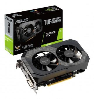 Placa de video Nvidea Geforce Asus Gtx 1660TI OC 6GB -192 Bits - TUF-GTX1660TI-O6G-Gaming