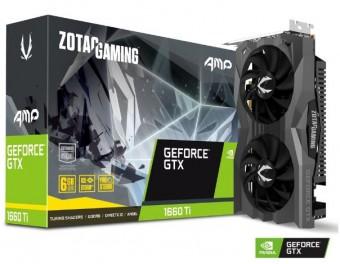 Placa de video Geforce® Zotac Gtx 1660TI AMP! Edition 6GB GDDR6 - 192 BITS - ZT-T16610D-10M