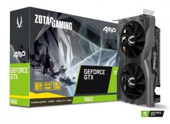 Placa de video Geforce® Zotac Gtx 1660 AMP! Edition 6GB GDDR5 - 192BITS ZT-T16600D-10M
