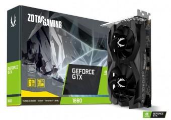 Imagem - Placa de Video GeForce® Zotac Gtx 1660 Twin Fan 6GB GDDR5 - 192BITS -  ZT-T16600F-10L