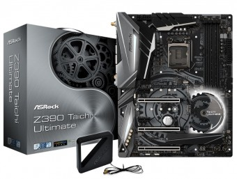 Placa Mãe Asrock Z390 Taichi Ultimate Intel 1151 Ddr4 Hdmi/DP USB3.1/TIPE-C /ULTRA M.2  8ª /9ª GER BLUETOOTH 5.0/WI-FI
