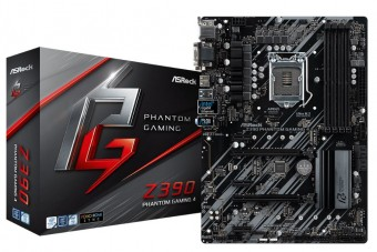 Placa Mãe Asrock Z390 Phantom Gaming 4 Intel 1151 Ddr4 HDMI  DVI-D D-SUB USB 3.1 TIPE-C ULTRA M.2  8ª  E 9ª Geração