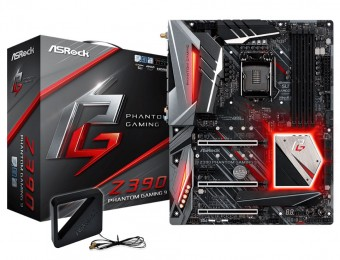 Placa Mãe Asrock Z390 Phantom Gaming 9 Intel 1151 Ddr4 Hdmi DP USB 3.1 TIPE-C ultra M.2  8ª /9ª Geração Blue 5.0 Wi-Fi