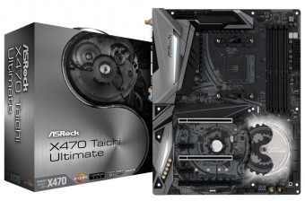Placa Mãe Asrock X470 Taichi Ultimate Soquete AM4 DDR4 Usb 3.1 Gen1 Type-C Hdmi M.2