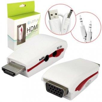 Adaptador Conversor HDMI Para VGA 1080P HDMI para VGA