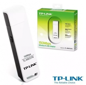 ADAPTADOR USB WIRELESS TP-LINK TL-WN727N N 150MBPS