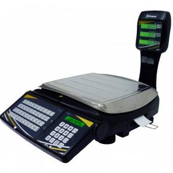 Balança Em Rede Topmax-s 30/2 - Tcp/ip Wi-fi - Com Etiquetador Embutido e Bateria 22.31.100.0592