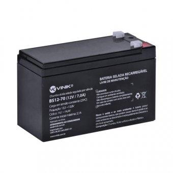 Bateria 12V 7,0A Selada VLCA BS12-70 Vinik NOBREAK
