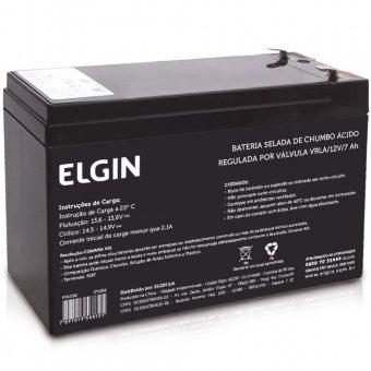 Bateria Selada Elgin Vrla - 12v 7ah
