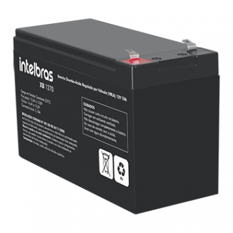 Bateria Selada Intelbras XB1270 VRLA 12V 7A Alarme