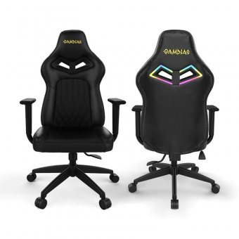 Cadeira Gamer Gamdias Achilles E3 L, Preto