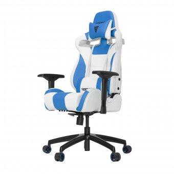 Cadeira Gamer Racing S-Line Branco E Azul Vg-Sl4000-Wbl Vertagear