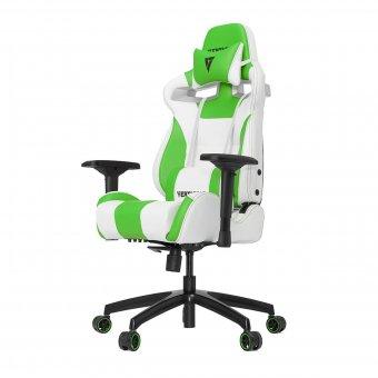 Cadeira Gamer Racing S-Line Branco E Verde Vg-Sl4000-WG Vertagear