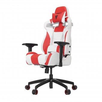 Cadeira Gamer Racing S-Line Branco E Vermelho Vg-Sl4000-WR Vertagear