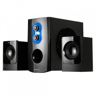 Caixa de Som C3tech 2.1 20w Rms Preta - Sp-100bk