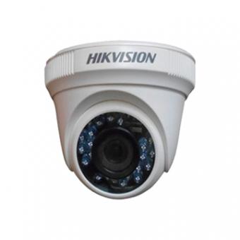 Camera AN 1MP Dome 2.8MM IR10M DS-2CE5AC0T-IRP HDTVI Plastica 720P Hikvision