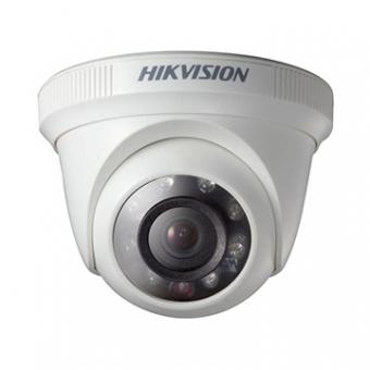 Camera AN 1MP Dome 2.8MM IR20M DS-2CE56C0T-IRPF Flex Plastica 720P Hikvision