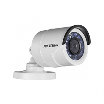 Camera AN 2MP Bullet 2.8MM IR15M DS-2CE1AD0T-IRP HDTVI Plastica 1080P Hikvision