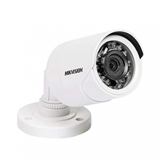 Camera AN 2MP Bullet 3.6MM IR15M DS-2CE1AD0T-IRP HDTVI Plastica IP66 Hikvision