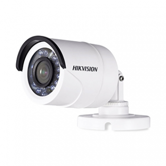 Camera AN 2MP Bullet 3.6MM IR20M DS-2CE16D0T-IRP HDTVI Plastica IP66 Hikvision