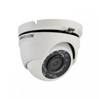 Camera AN 2MP Dome 2.8MM IR20M DS-2CE56D0T-IRMF Flex Metalica 1080P Hikvision
