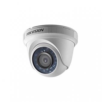 Camera AN 2MP Dome 2.8MM IR20M DS-2CE56D0T-IRP HDTVI Plastico 1080P Hikvision