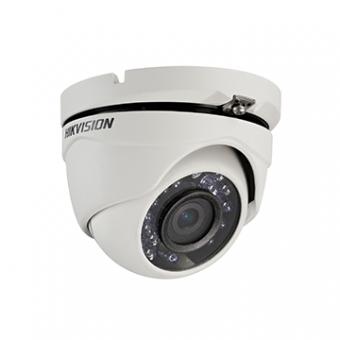 Camera AN 2MP Dome 2.8MM IR20M DS-2CE56D0T-IRPF Flex Plastico 1080P Hikvision