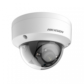 Camera AN 3MP Dome 2.8MM IR20M DS-2CE56F7T-VPIT HDTVI Exir 1536P Hikvision