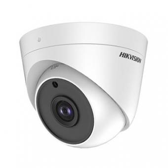 Camera AN 5MP Dome 2.8MM IR20M DS-2CE56H0T-ITPF HDTVI Plastico Exir IP66 Hikvision