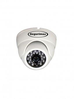Câmera Dome Multifunção 4 EM 1 HD/24 Leds, 1.0MP, 2.8mm SEGURIMAX