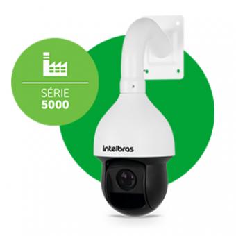 Camera IP 2MP Speed Dome Vip 5220 SD IR POE+ Intelbras