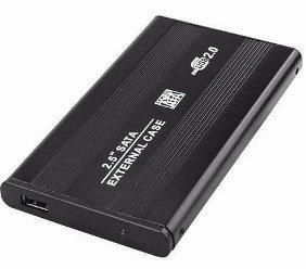 CASE P/ HD 2.5 SATA BLUTIME USB 2.0 PTO