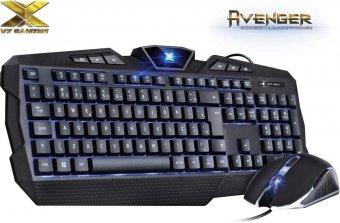Combo Gamer Teclado E Mouse Vx Gaming Avenger