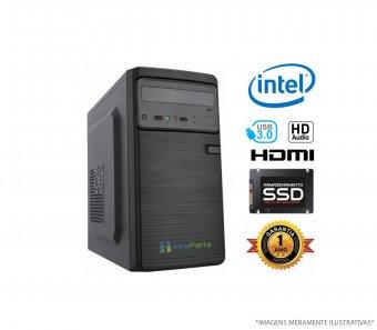 Imagem - Computador Home Office Intel Core i3-7100 - 4GB RAM, SSD 120GB