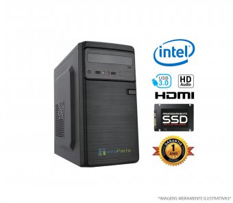 Computador Home Office Intel Core i5-8400 - 4GB RAM SSD 120GB