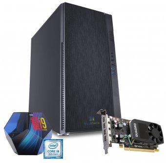 Computador Workstation WK-99P1 InfoParts - Intel Core I9-9900K, Quadro P1000, 16GB RAM, 1TB