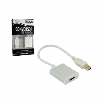 Conversor De Video USB X HDMI 15CM