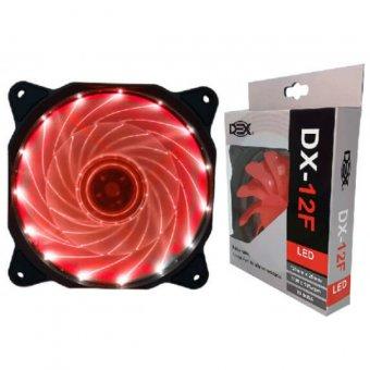 Cooler Dex Led Vermelho Dx-12f 120mm