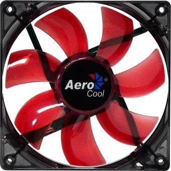 Cooler Fan 12cm RED LED EN51363 Vermelho AEROCOOL