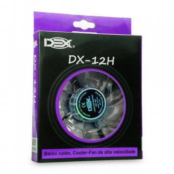 Imagem - Cooler Fan Led Extra Forte 120mm Dx-12h Roxo