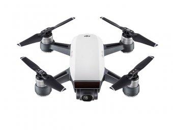 Drone Dji  Spark Fly More Combo White Alpine Com Radio Controle