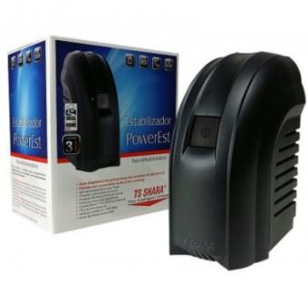 Estabilizador Ts Shara Powerest 500va Bivolt Slim 9016