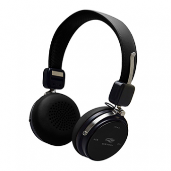 Fone De Ouvido Bluetooth 4.2 C3TECH PH-B600BK Preto