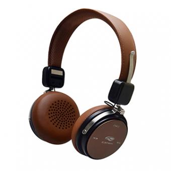 Fone De Ouvido Bluetooth 4.2 C3TECH PH-B600BW Marrom
