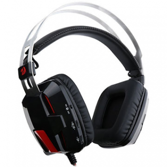 Fone De Ouvido Com Microfone Gamer Redragon Lagopasmutus 2