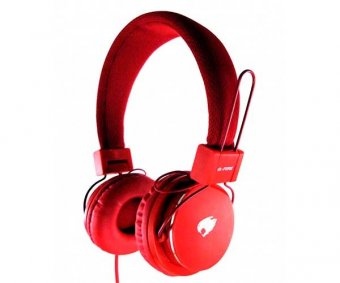 Fone De Ouvido G-Fire Vermelho Com Microfone, Eph220fgse