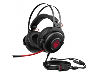 Fone Headset Gamer Hp Omen 800, P2 Com Controle De Volume