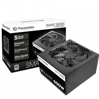 Fonte 600W 80 Plus White Thermaltake Smart Series PS-SPD-0600NPCWUS-W